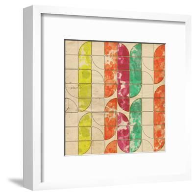 Geometric Color Shape XI--Framed Art Print