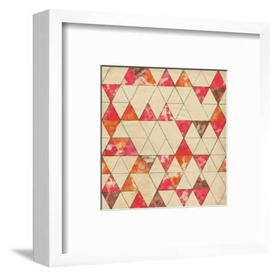 Geometric Color Shape VI--Framed Art Print