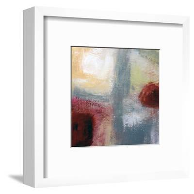 On The Terrace--Framed Art Print