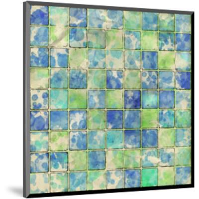Geometric Color Shape I--Mounted Art Print