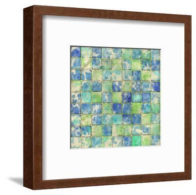 Geometric Color Shape I--Framed Art Print