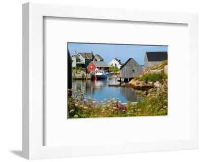 Peggy'S Cove Nova Scotia--Framed Art Print