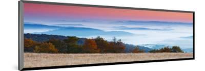 Sunrise in Mountain Landscape--Mounted Art Print