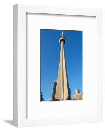 Toronto CN Tower Canada--Framed Art Print
