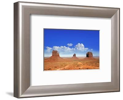 Buttes of Monument Valley Utah--Framed Art Print