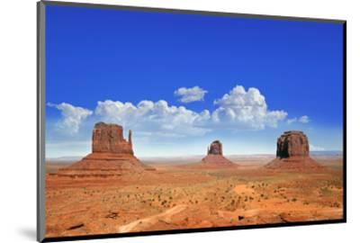 Buttes of Monument Valley Utah--Mounted Art Print
