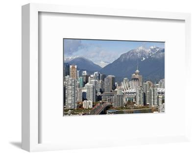Vancouver Mount Grouse CambieB--Framed Art Print
