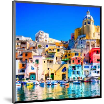 Procida Island Naples - Italy--Mounted Art Print