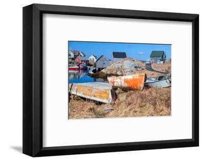 Peggy's Cove NovaScotia Canada--Framed Art Print