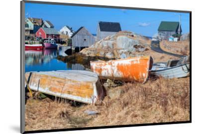 Peggy's Cove NovaScotia Canada--Mounted Art Print