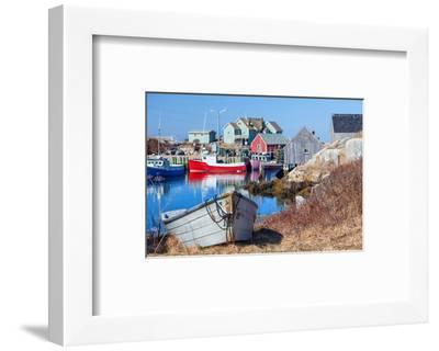 Peggy's Cove Nova Scotia Coast--Framed Art Print