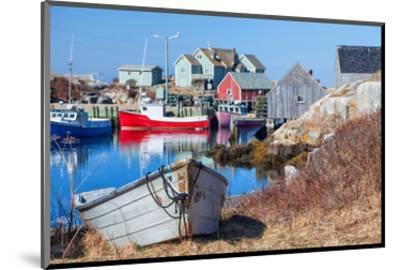 Peggy's Cove Nova Scotia Coast--Mounted Art Print