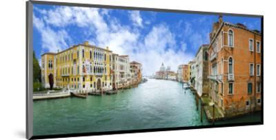 Grand Canal & Basilica Venice--Mounted Art Print
