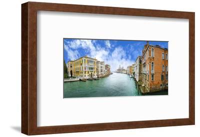 Grand Canal & Basilica Venice--Framed Art Print