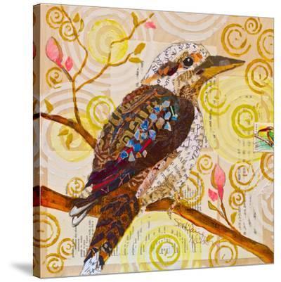 Laughing Kookaburra--Stretched Canvas Print