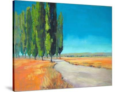 Poplars II--Stretched Canvas Print