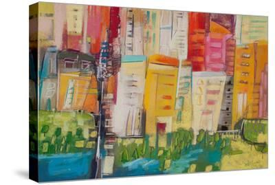City 13--Stretched Canvas Print