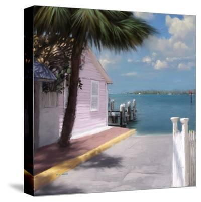 Beach 02-Kurt Novak-Stretched Canvas Print
