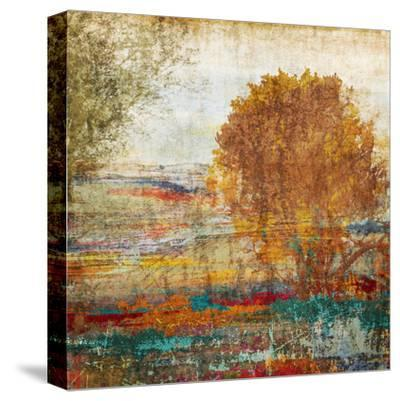 Autumn Mooves--Stretched Canvas Print
