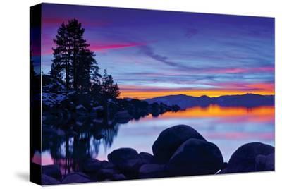 Lake Tahoe VI--Stretched Canvas Print