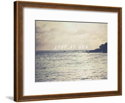 Lost At Sea-Ashley Davis-Framed Art Print