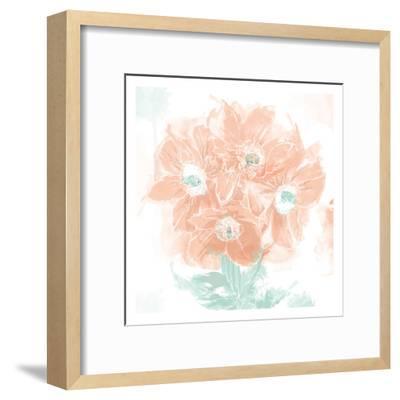 Floral Watercolor-OnRei-Framed Art Print