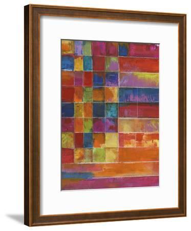 Vivid Color Block-Smith Haynes-Framed Art Print