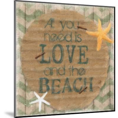 Love And The Beach-Taylor Greene-Mounted Art Print