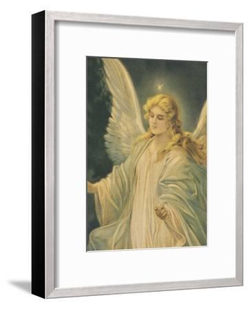 The Guardian Angel - Detail-The Vintage Collection-Framed Art Print