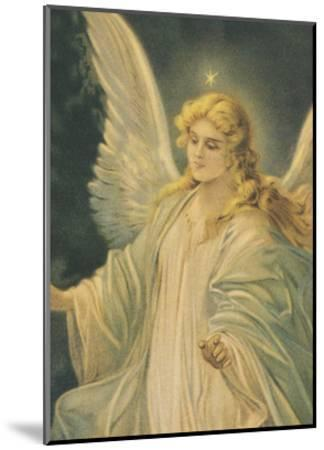 The Guardian Angel - Detail-The Vintage Collection-Mounted Art Print
