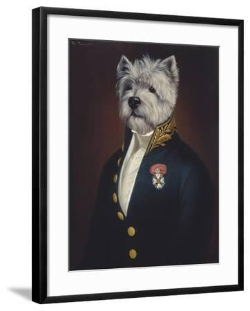 The Officer's Mess-Thierry Poncelet-Framed Giclee Print
