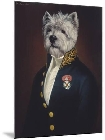 The Officer's Mess-Thierry Poncelet-Mounted Giclee Print