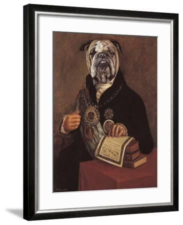 Chains of Office-Thierry Poncelet-Framed Giclee Print
