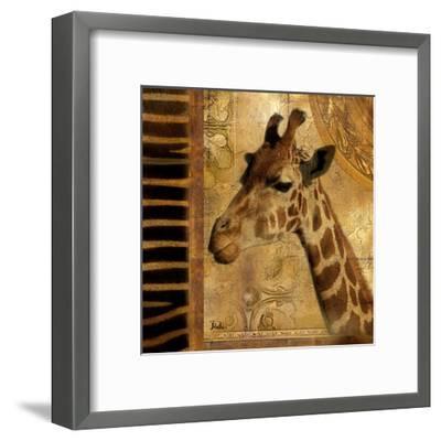 Elegant Safari III-Patricia Pinto-Framed Art Print
