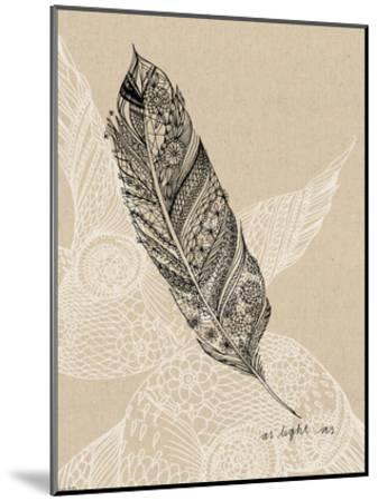 Light As A Feather-Paula Mills-Mounted Art Print