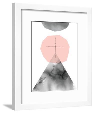 Pale Mountain Journey-Paula Mills-Framed Art Print