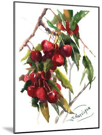 Cherries-Suren Nersisyan-Mounted Art Print