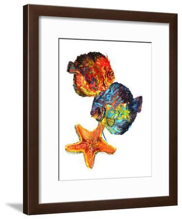 Discus 2-Suren Nersisyan-Framed Art Print