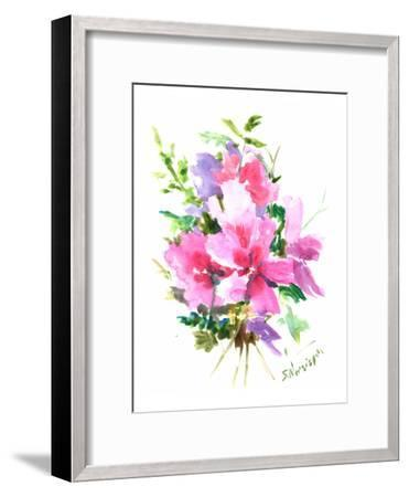 Roses Of Sharon-Suren Nersisyan-Framed Art Print