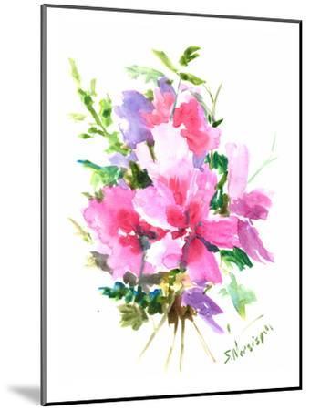 Roses Of Sharon-Suren Nersisyan-Mounted Art Print