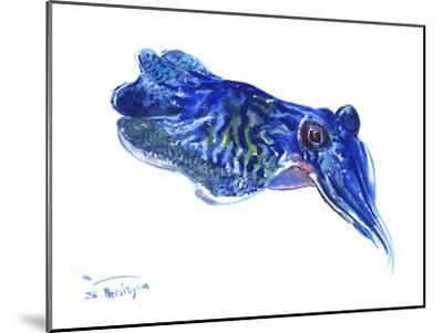 Squid-Suren Nersisyan-Mounted Art Print