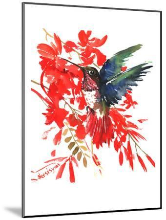 Humingbird-Suren Nersisyan-Mounted Art Print