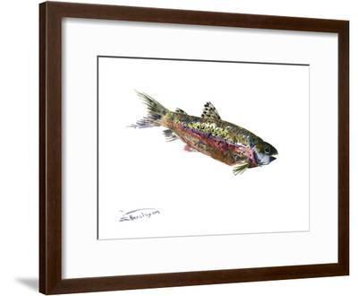 Rainbow Trout-Suren Nersisyan-Framed Art Print