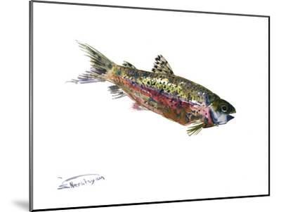 Rainbow Trout-Suren Nersisyan-Mounted Art Print