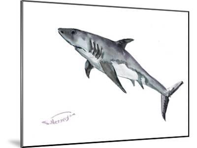 Shark-Suren Nersisyan-Mounted Art Print