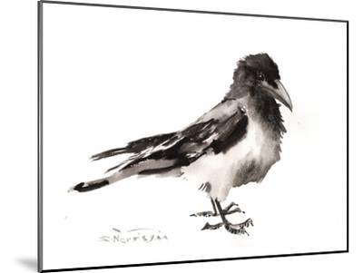 Hooded Crow-Suren Nersisyan-Mounted Art Print