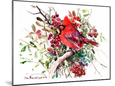 Red Cardinal 6-Suren Nersisyan-Mounted Art Print