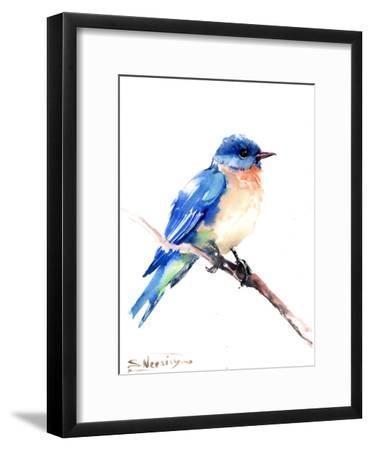 Bluebird 2-Suren Nersisyan-Framed Art Print