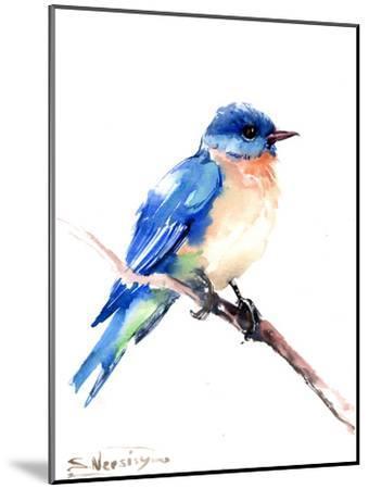 Bluebird 2-Suren Nersisyan-Mounted Art Print