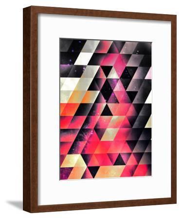 Fyrlyrne Fyyrth-Spires-Framed Art Print
